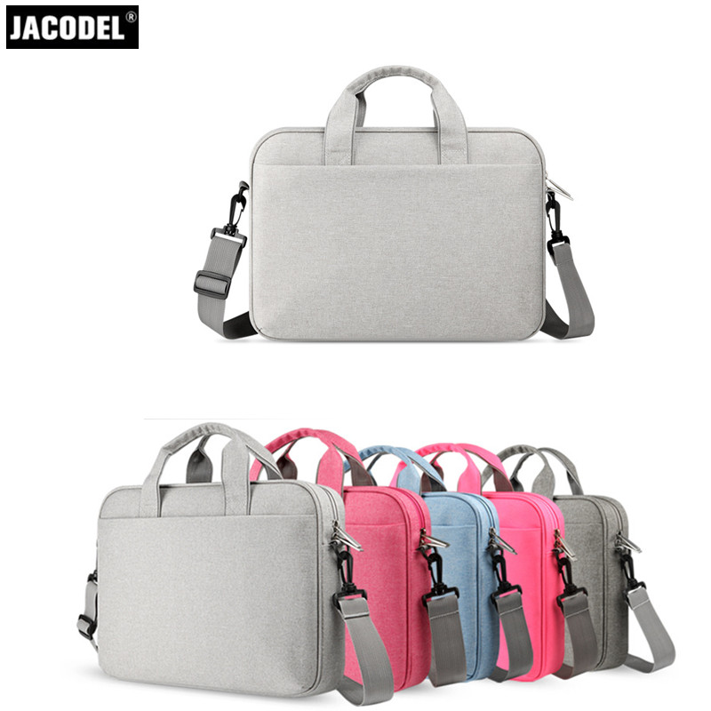 Jacodel Laptop Case 11.6 12 13.3 14 15 15.6 inch Laptop Sleeve for MacBook Air pro Asus Dell HP Lenovo Acer Laptop Briefcase Bag