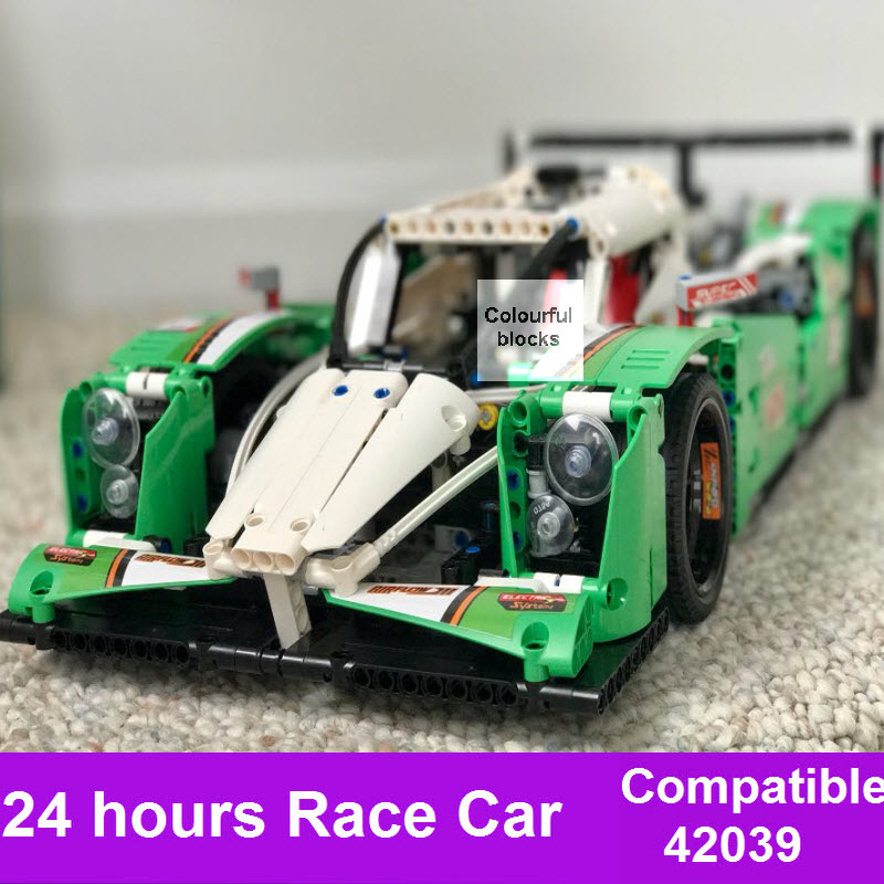New 1249PCS LEPIN 20003 Technic Series The 24 hours Race Car Building Blocks Bricks Assembly Toys Compatible 42039 For Kids Boy lepin technic city series 24 hours race car building blocks bricks model kids toys marvel compatible legoe