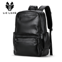 LIELANG Men's Genuine Cow Leather Backpack Laptop Male School Bag High Quality Men Daypacks Style Casual Travel Bag