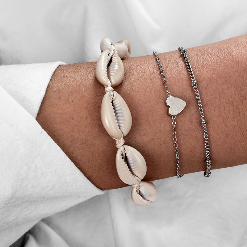 Vintage Boho Shell Jewelry Multilayer Shell Anklets For Women Bracelet Shell Leg Bracelet 2019 DIY Jewelry Accessories Wholesale 2