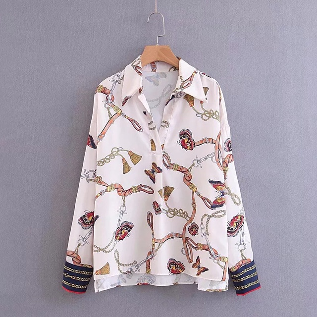 Butterfly Shirt and blouses for Women 4