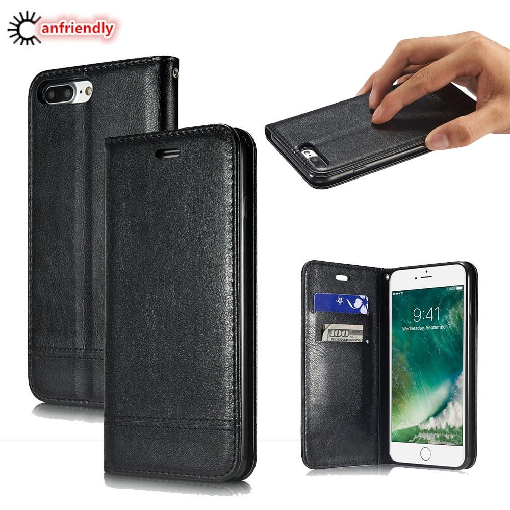 Luxusní flip pouzdro pro iPhone 7/7 Plus / 7+ peněženka - Příslušenství a náhradní díly pro mobilní telefony
