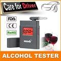 Profissional respiração polícia Digital Alcohol Tester bafômetro AT838 Dropshipping