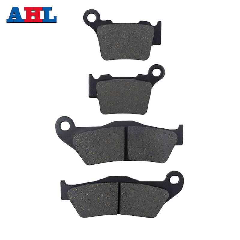 Motorcycle Front and Rear Brake Pads For KTM EXC F 250 350 EXC R 450 EXC 400 450 525 2004 2007 EXC 500 2012 2016 EXC300 EXC400 in Brake Disks from Automobiles Motorcycles