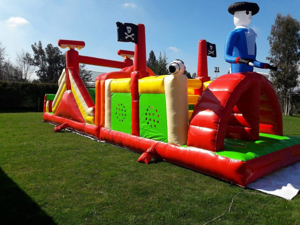 Inflatable Playground obstacle course children amusement ...
