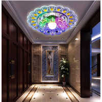 Decoración de porche luz colorida lámpara de luz de techo para dormitorio Hotel superficie de montaje entrada pasillo luces de lámpara