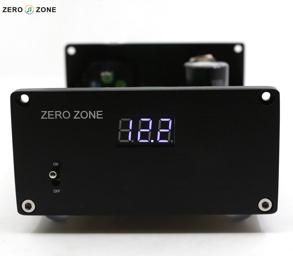 ZEROZONE 15W LPS HIFI Linear Power Supply Headphone / DAC External Regulator Power Supply With Display zerozone dc9v 3a hifi linear power supply for amp dac external psu lps