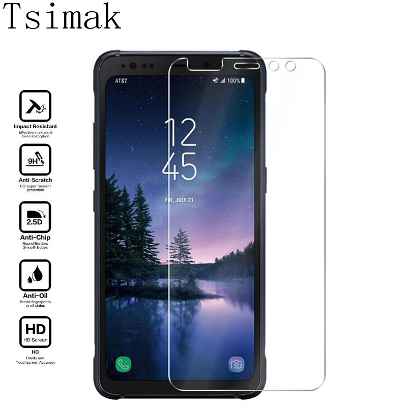 Tsimak For Samsung Galaxy S8 Active Tempered Glass Screen