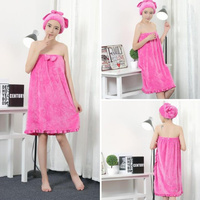 Bath Towel Worn In A Bath Wrapped In Breasts Sexy Onesi E Female Costume Absorption Super