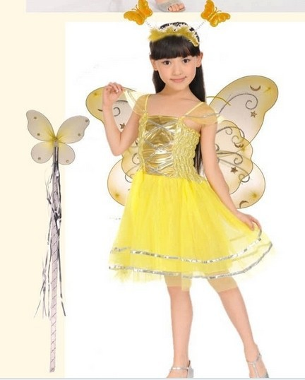 Party Butterfly Fairy Cosplay Halloween Costumes for Kids Children Performance Fancy Dress Carnival Costume CC0050-in Anime Costumes from Novelty u0026 Special ...  sc 1 st  AliExpress.com & Have Stock ! Party Butterfly Fairy Cosplay Halloween Costumes for ...