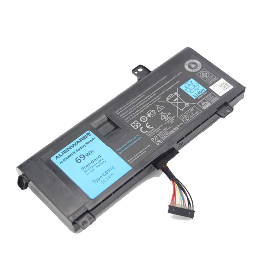 11.1V 65Wh Original Battery For Alienware 14 A14 M14x R4 14D-1528 ALW14D G05YJ 0G05YJ Y3PN0 8x70 T  Free Shipping