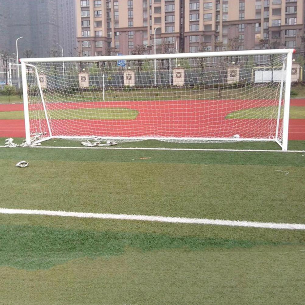 popular professional football goals buy cheap professional new 1pcs 24x8ft professional football goal nets for soccer goal post junior sports training outdoor match