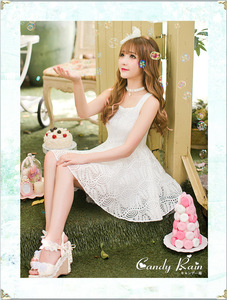 Image 2 - Princess adorable Vestido de lolita vestidos con hombros descubiertos para princesa C16AB6114, Verano