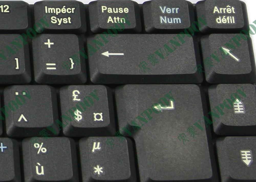 Новинка Клавиатура для ноутбука Fujitsu Amilo Pa1510 Pa2510 Pi1505 Pi1537 Pi1556 Pi2515 Черный Французский FR версия-MP-02686F0-360FL