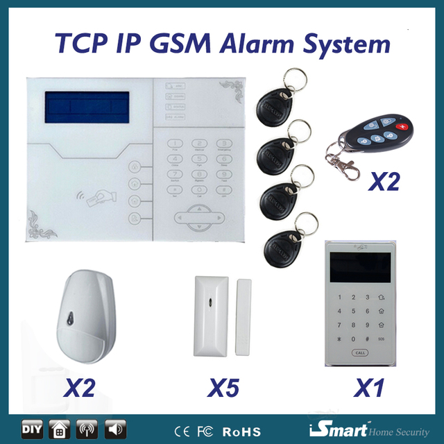 Best Price 433/868MHz Pet Friendly Home Burglar Alarm System Immune to Pets/Cats/Dogs, Wireless Home Security Alarme Casa Free Shipping