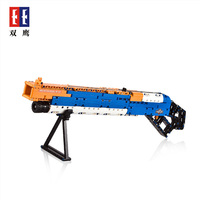 PUBG Winchester M 1887 Military Technic Building Model Block Brick With Soft Bullet fit for Legos Kids Outdoor Game CS toy gun
