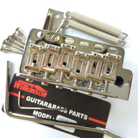 Korea ST Guitar Wilkinson WV6 Tremolo Bridge Bent Steel Saddles