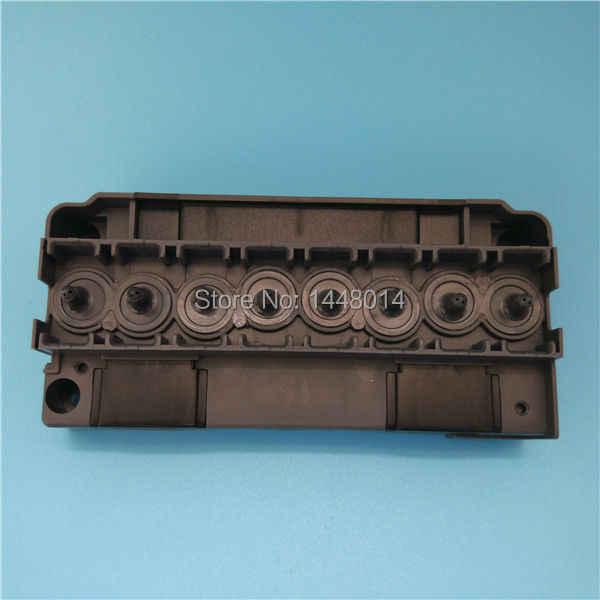 Eco solvent DX5 kepala adapter manifold plastik untuk Roland Mimaki Mutoh printer Allwin Manusia penutup