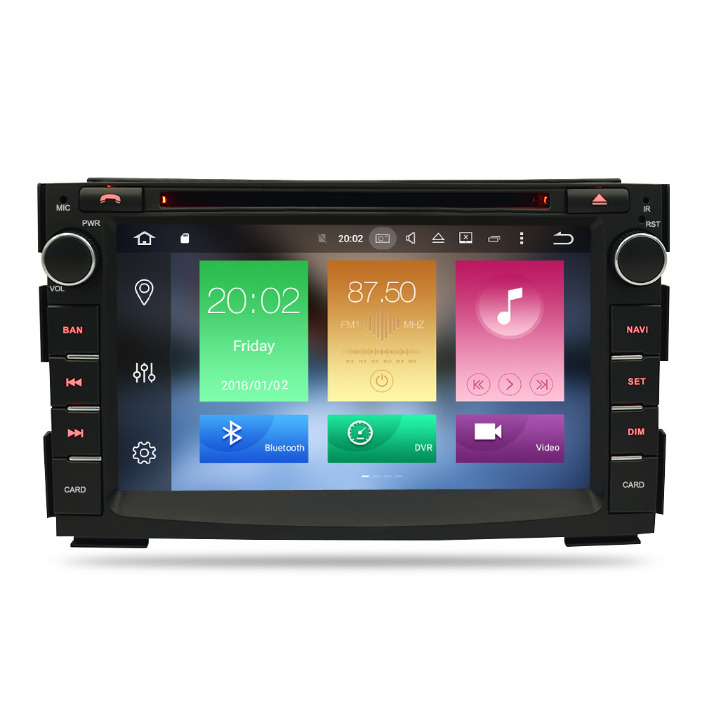 Image 2 - 8 Core Android 8.0 Car Multimedia Player For Kia Ceed 2010 2011 2012 Audio Stereo WiFi RDS DVD 2 Din Video Radio GPS Navigation-in Car Multimedia Player from Automobiles & Motorcycles