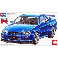 NISSAN 1 24 GT R R34 Sports Car Model 24210