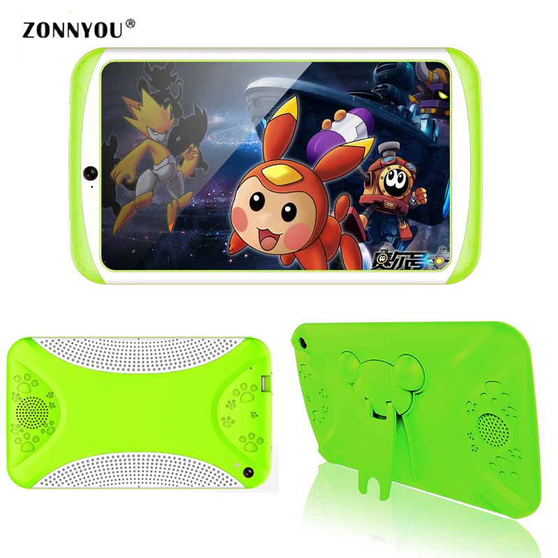 цена на 7 Inch Kids Tablet PC Android 4.4 Quad Core 8GB WiFi Bluetooth Screen Children Education Games Baby PC Gift
