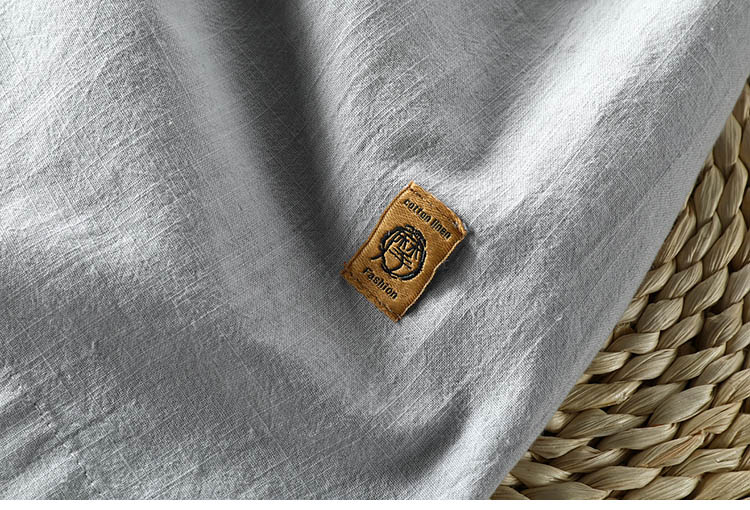 2020 schinteon men casual algodão camisa de