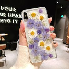 Case Cute Phone Cover For iPhone XS Max X XR TPU Cover For iphone XS 8 7 Plus 6 6s Plus Silicon TPU Clear Floral Cover Cases цена и фото