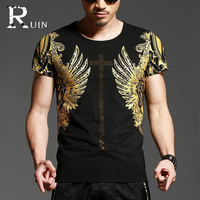 Newest Design Bronzing Trend Men Casual T Shirt Youth Tees Shirt Men S T Shirt Short
