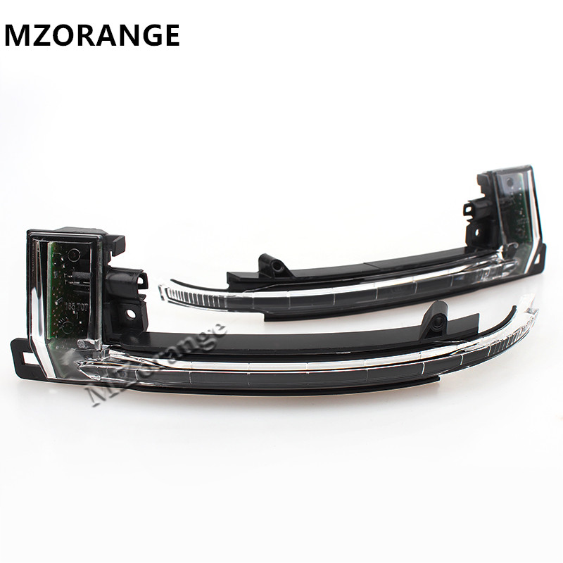 1 Pair Left and Right Side Turn Signals Light Rearview Mirror Lamp FOR Audi A6 C6 A5 2008 2009 2010 2011 left and right car rearview mirror light for mercedes benz w164 gl350 gl450 gl550 ml300 ml350 turn signal side mirror led lamp