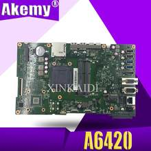 A6420 MAIN_BD._/UMA/TPM With G1840 Motherboard For ASUS A6420 All in one Desktop Mainboard 90PT01B0-R02000 DDR3 1600MHz Test OK(China)
