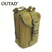 a92dc62046ada OUTAD Multifunktions Taktische Tasche Zipper Verschluss Kleine Werkzeuge  Halter Nylon Jagd Taille Pack Rucksack Befestigung für