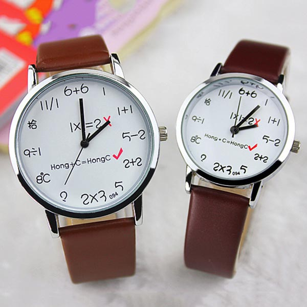 Cute Funny Women Men Quartz Wrist Watch Analog
