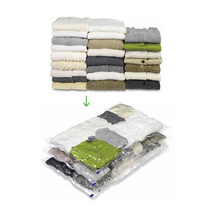 Vacuum Storage Bag Home Supplies Clothing Compact Roll Up Household Handy Luggage Traveling Camping Home Storage Bag