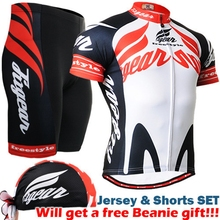2017 team cycling sets spring Bicycle Sports Ropa Maillot Clothes Men Cycling Jersey Shorts 3d padded Set suits for riding
