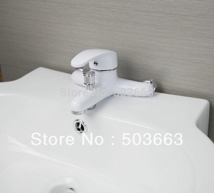 Спрей Живопись Отделка Ванная комната настенные бассейна смесителя смеситель для раковины; Модный кран ванна кран смесителя L-3663