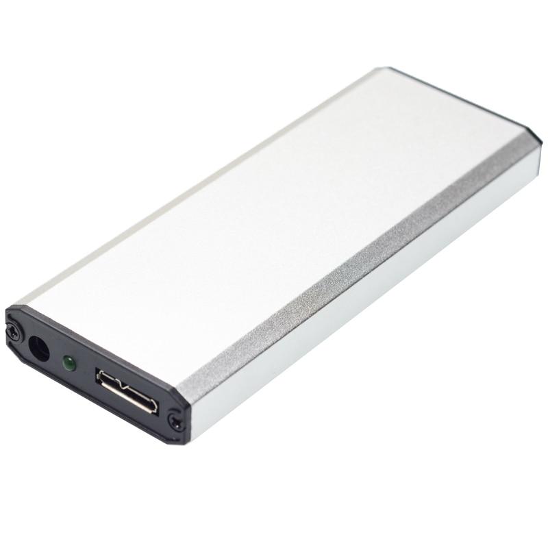 Pour Apple Macbook Pro 2012 SSD boîtier Portable USB 3.0 à 17 + 7 broches emplacement HDD boîtier pour A1425 A1398 MC975 ME662 ME664 ME665