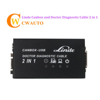 Linde Canbox And Doctor Diagnostic Cable 2 In 1 2014 Version Multi Languages For Heavy Duty