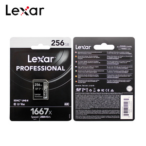 Image 5 - Lexar Professional 1667x SDXC UHS II SD Card up to 250MB/s Flash Memory Card 64GB 128GB 256GB SD Card for 1080p HD 3D 4K video