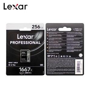 Image 5 - بطاقة SD احترافية 1667x SDXC UHS II بطاقة ذاكرة فلاش حتى 250 برميلند/الثانية 64 جيجا بايت 128 جيجا بايت 256 جيجا بايت بطاقة SD 1080p HD 3D 4K فيديو