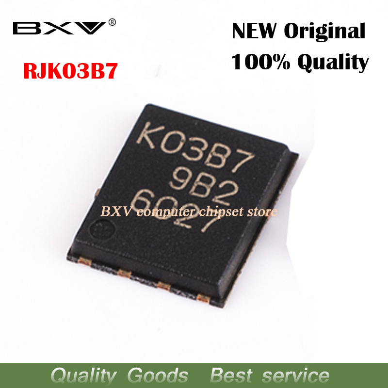 10pcs RJK03B7DPA RJK03B7 <font><b>K03B7</b></font> QFN new original laptop chip free shipping image