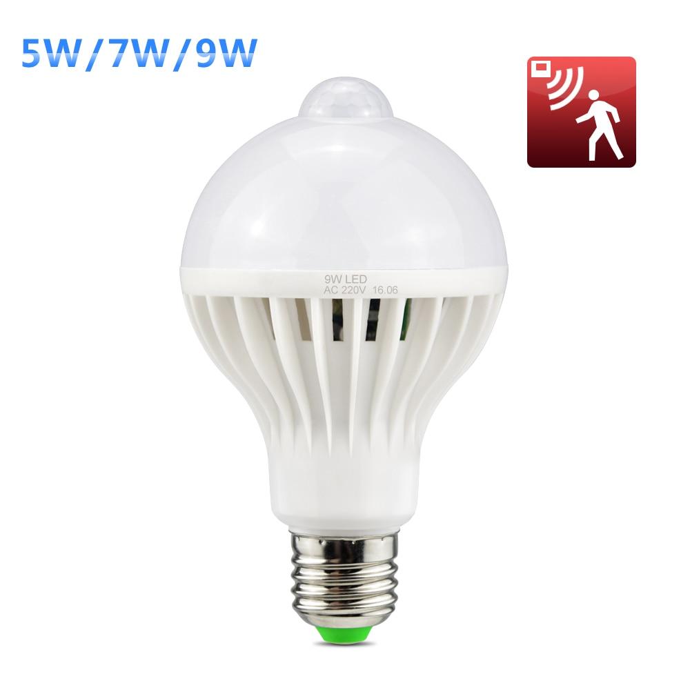 LightInBox E27 Induction Smart lamp Bulb For Hallway ...