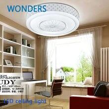 Современный из светодиодов потолочные для спальня 15,23 Вт круглый акриловые психического дома потолок лампы