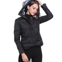 2016 Fashion Winter Coat Duck Down Jackets Women's Pattern Print Hooded Down Parkas 5 Colors FS0284