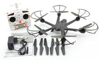 F15067 D Black MJX X600 2.4G 3D Roll FPV Wifi Helicopter RC Drone Quadcopter UFO No Camera with Extra Props FS