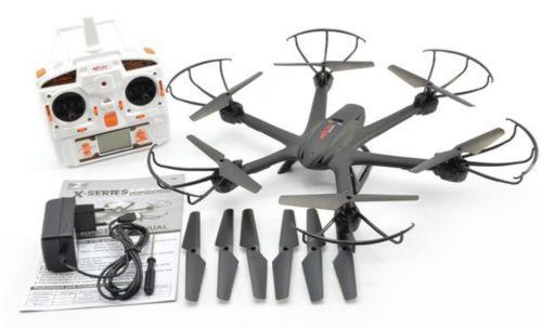 F15067-D Preto X600 2.4G Rolo 3D FPV Wifi RC Helicóptero MJX Zangão Quadcopter UFO Sem Câmera com Adereços Extras FS