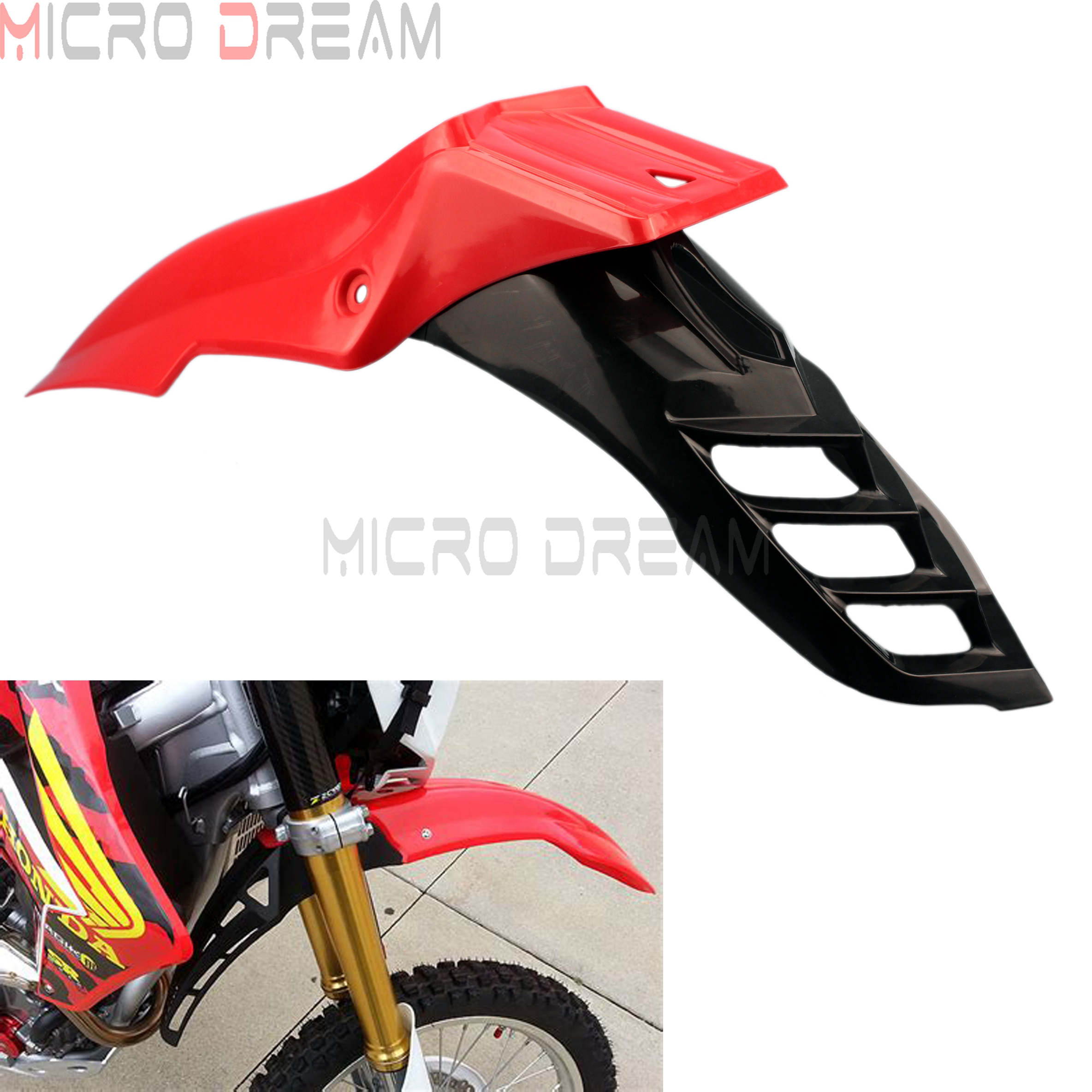 High Quality Red Motorcycle Cover For Honda CRF250R Dirt Bike