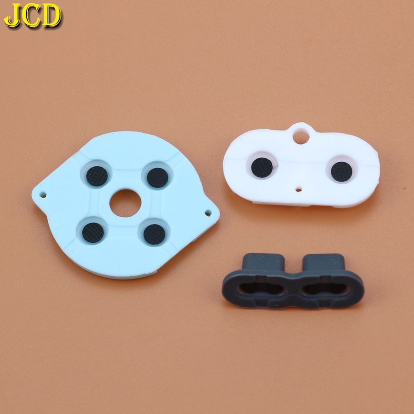 JCD 1 Set Rubber Conductive Buttons A-B D-pad For Nintend Gameboy Pocket For GBP Silicone Start Select Keypad