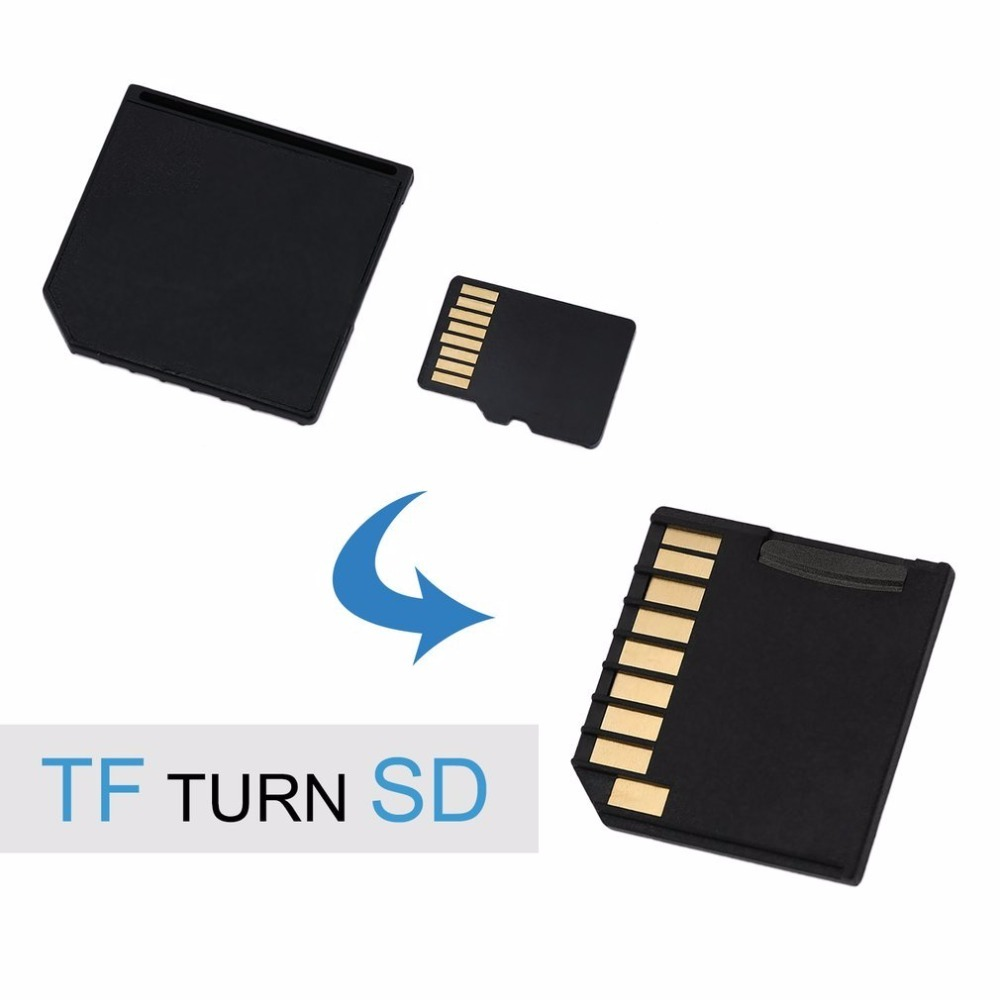 Newest Portable Mini Short SDHC TF SD Card Adapter Flash Drive For MacBook Air Up To 64G
