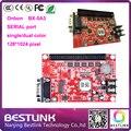 BX-5A3 p10 светодиодный модуль led знак Onbon контроллер 128*1024 пикселей контроллер ПОСЛЕДОВАТЕЛЬНОГО порта single/dual светодиодный табло знак