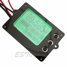 Capacity Tester Indicator Coulometer 35 80V 50A Lithium Lead Acid Battery Meter